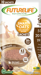 Futurelife Smart Oats and Ancient Grains Chocolate 10x50g Case of 6