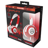 Amplify Symphony Series Headphones - Red/White - FYIonline