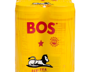 BOS Ice Tea Lemon 330ml can 4pack