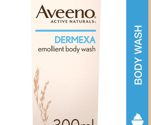Aveeno Dermexa Emollient Body Wash 300ml Pack of 6