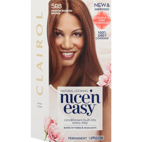 Nice and Easy Natural Medium Reddish Brwn 5rb - FYIonline