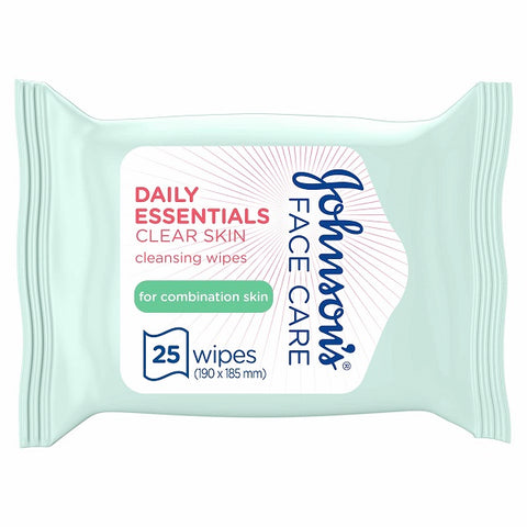 Daily Essentials Wipes Combination 25s Pack of 6