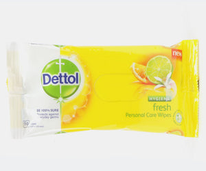 Dettol Hygiene Wipes Fresh 10s