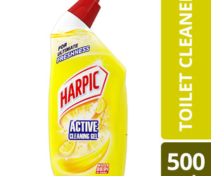 Harpic Active Cleaning Gel Citrus 500ml Shrink of 6
