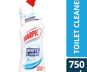 Harpic White and Shine Original 750ml Shrink of 6