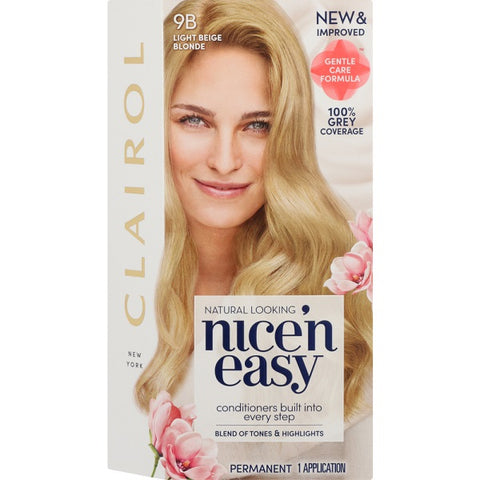 Nice and Easy Natural Light Beige Blond 9b - FYIonline