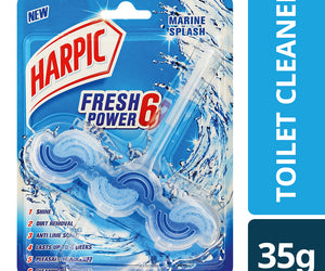 Harpic Fresh Power 6 Marine Splash 35g Case of 6