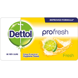 Dettol Soap Profresh Fresh 150g Shrink of 12