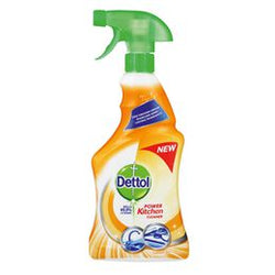 Dettol Hygiene Cleaner Kitchen Trigger Lemon Zest 500ml Case of 12