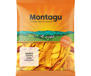 Montagu Mango Strips Choice Grade 250g Pack of 6