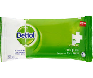 Dettol Hygiene Wipes Original 10s