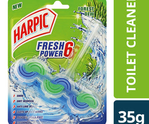 Harpic Fresh Power 6 Forest Dew 35g Case of 6