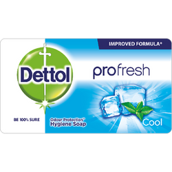 Dettol Soap Profresh Cool 150g Shrink of 12