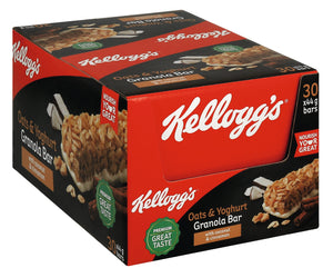 Kelloggs Oats and Yogert Granola Bar 44g Pack of 30