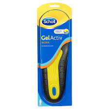 Scholl Gel Active Insoles Work Women