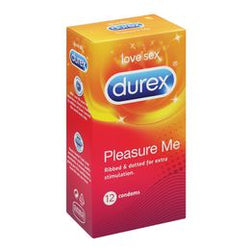 Durex Pleasure Me Condoms 12s