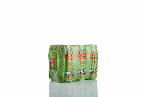 BOS Ice Tea Sparkling Pineapple and Coconut 300ml can case of 24