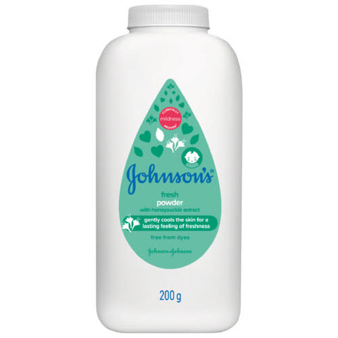 Johnsons Baby Powder Fresh 200g Pack of 24