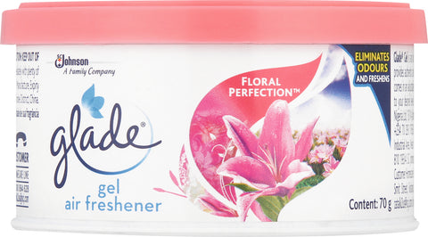 Glade Mini Gel Air Freshener Floral Perfection 1 x 70g