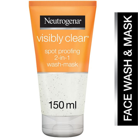Visibly Clear Spot Proofing 2 In 1 WashMask 150ml