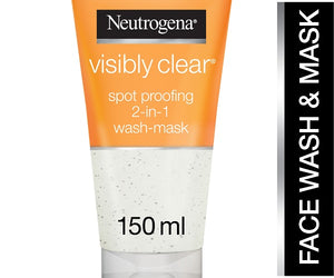 Visibly Clear Spot Proofing 2 In 1 WashMask 150ml Pack of 6