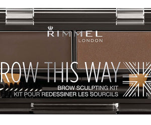 Rimmel Brow This Way Brow Powder Kit 003 Dark Brown