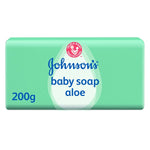 Johnsons Baby Baby Soap Aloe 200g