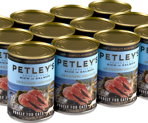 Petleys Pate with Salmon 375g Pack of 12