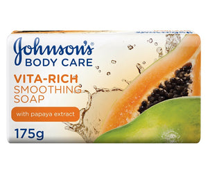 Vita Rich Smoothing Papaya Soap 175g