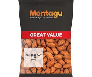 Montagu Almonds Raw CSSR 500g
