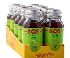 BOS Shots 50ml CBD 10pack