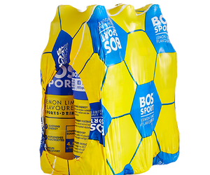 BOS Sport 500ml Lemon Lime 6pack