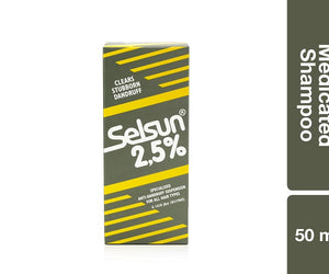 Selsun 2.5 Medicated Shampoo 50ml