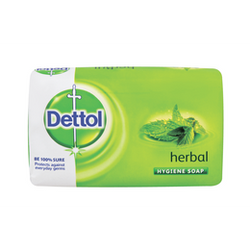 Dettol Soap Herbal 90g Shrink of 12