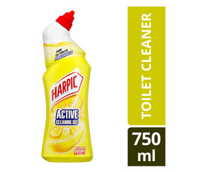 Harpic Active Cleaning Gel Citrus 750ml Case of 12