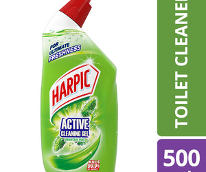 Harpic Active Cleaning Gel Mountain Pine 500ml Shrink of 6