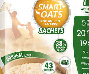Futurelife Smart Oats and Ancient Grains Originals 10 x 50g Case of 6