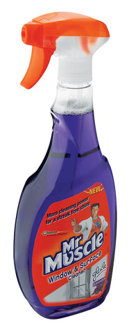 Mr Muscle Window and Surface Cleaner Lavender Trigger 1 x 750ml