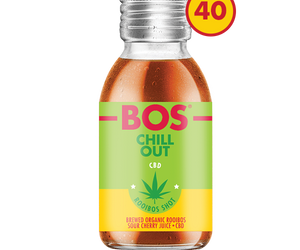 BOS Shots 50ml CBD case of 40