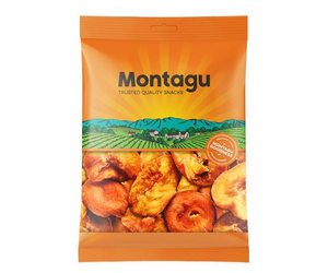 Montagu Yellow Cling Peeled Peach Choice Grade 500g Pack of 6