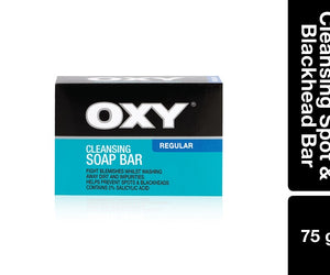 Oxy Cleansing Spot and Blackhead Bar 75g Pack of 6