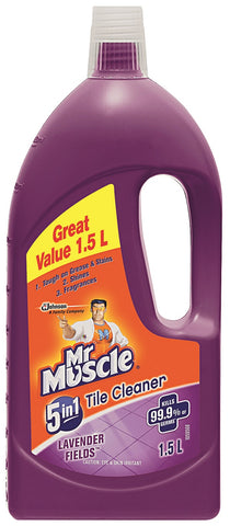 Mr Muscle Tile Cleaner Lavender Fields 1 x 1.5L