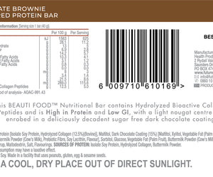 Futurelife Beauti Bars Chocoate Brownie 40g