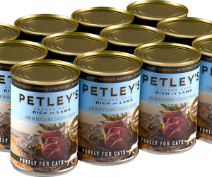 Petleys Pate with Lamb 375g Pack of 12