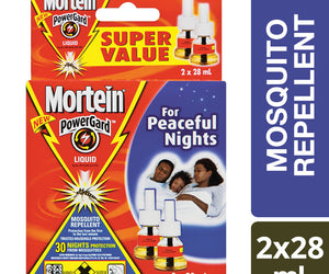 Mortein 30 Night Liquid Refill Twin Shrink 2x28ml