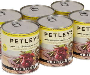 Petleys Lamb Vegetables and gravy 775g Pack of 6