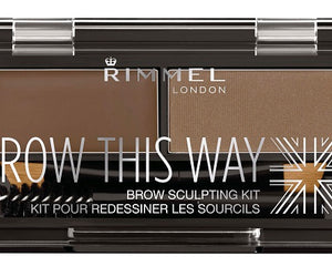 Rimmel Brow This Way Brow Powder Kit 002 Mid Brown