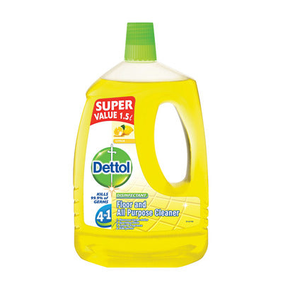 Dettol Hygiene All Purpose Cleaner Citrus 1.5lt Case of 6