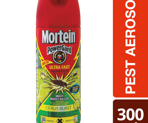 Mortein Ultra Fast Citrus Burst Aerosol 300 ml Case of 12