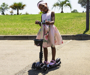 Kids 3-in-1 Scooter - Butterfly